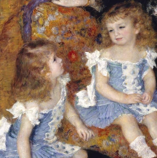 Madame Charpentier y sus dos hijas