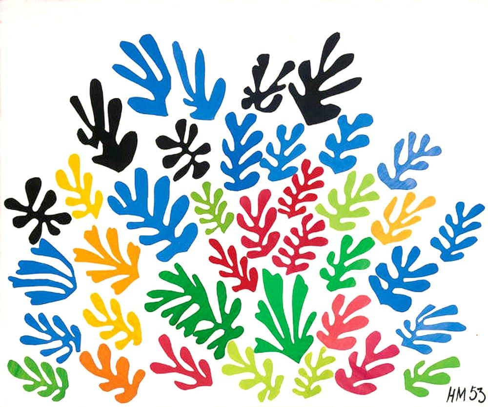 Hojas de Matisse