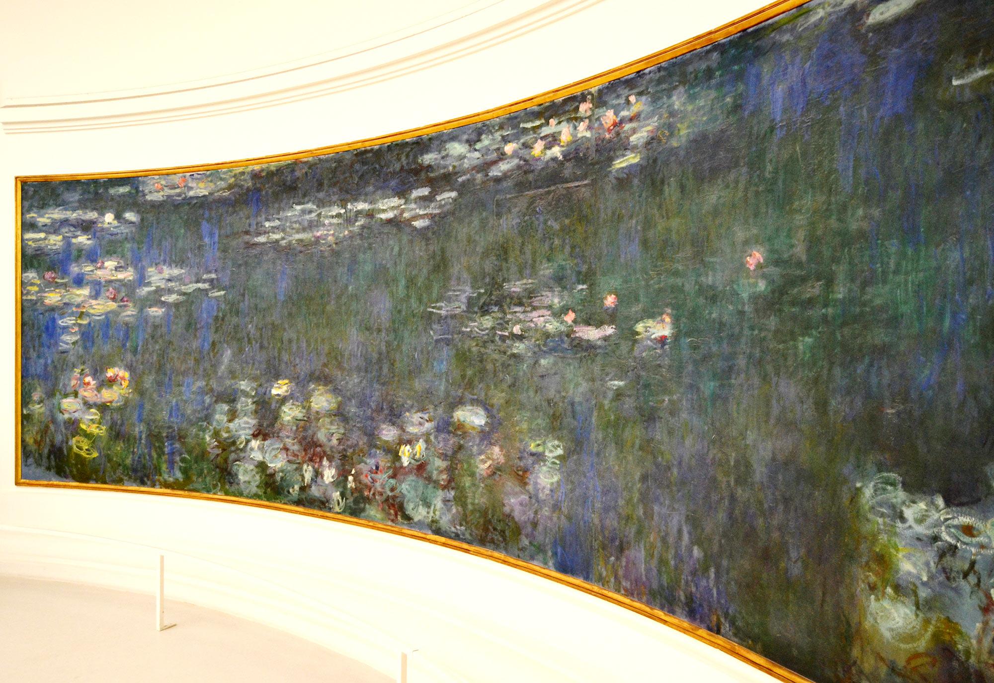 Museo de la Orangerie de Paris - Nenúfares de Monet