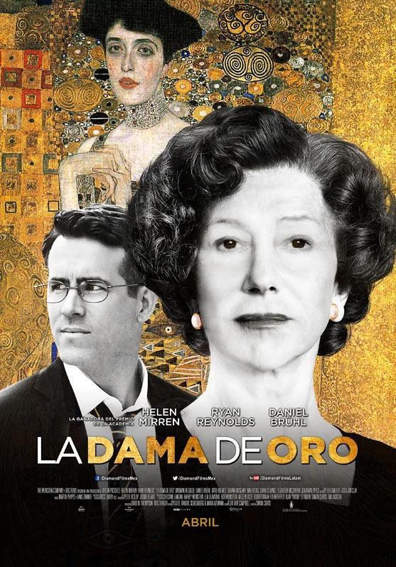 La mujer en oro, de Gustav Klimt