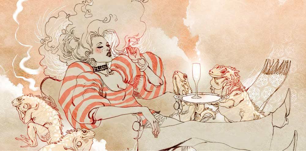 Ilustración de Margerite Sauvage