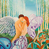 Pintura Psique y amor