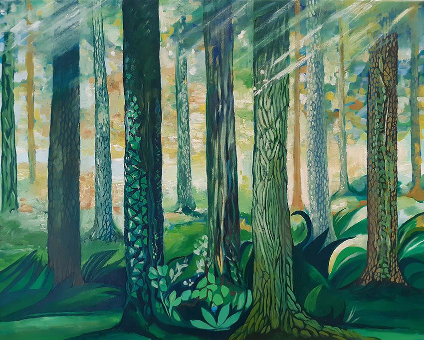 Pintura de Cristina Alejos