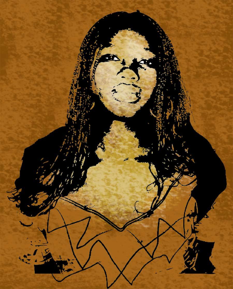 La africana, ilustración gratis