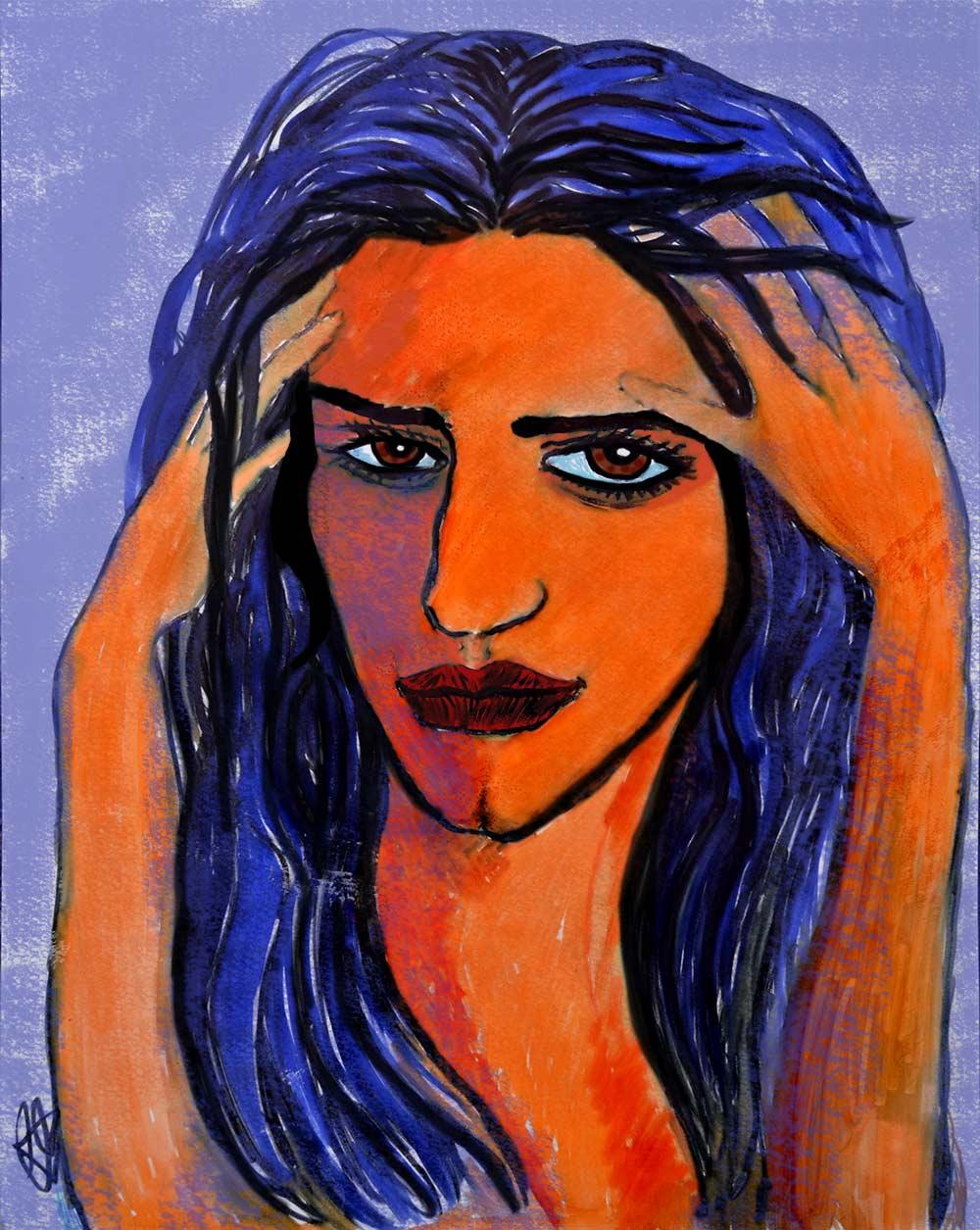 La Desesperación, ilustración gratis