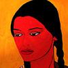 pintura la india