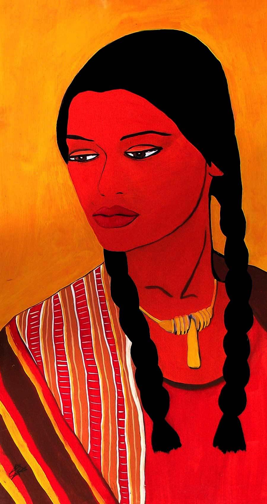La india, ilustración gratis