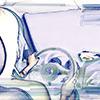 mujer conduce ilustracion