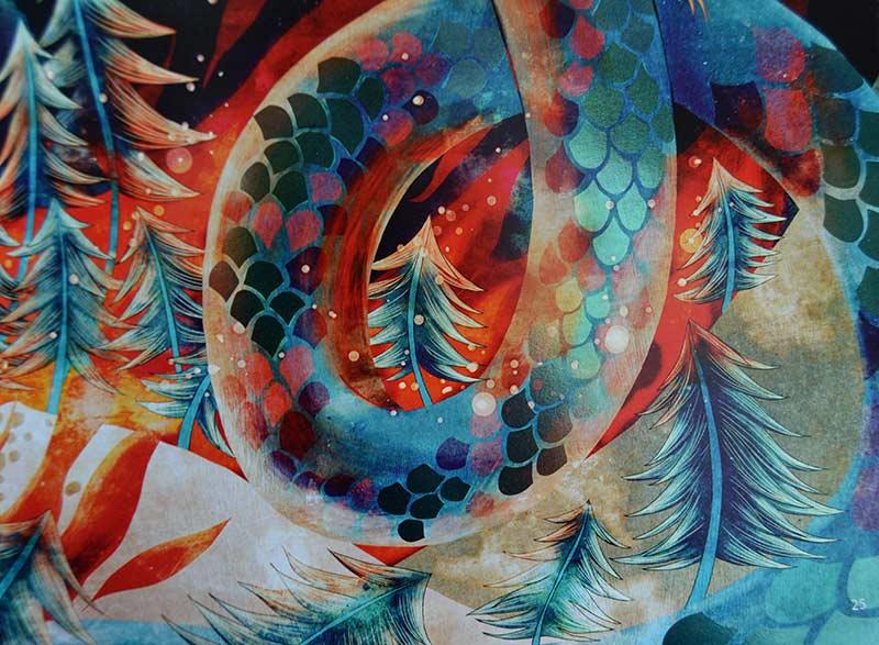 Pintura dragón de Khoa Le