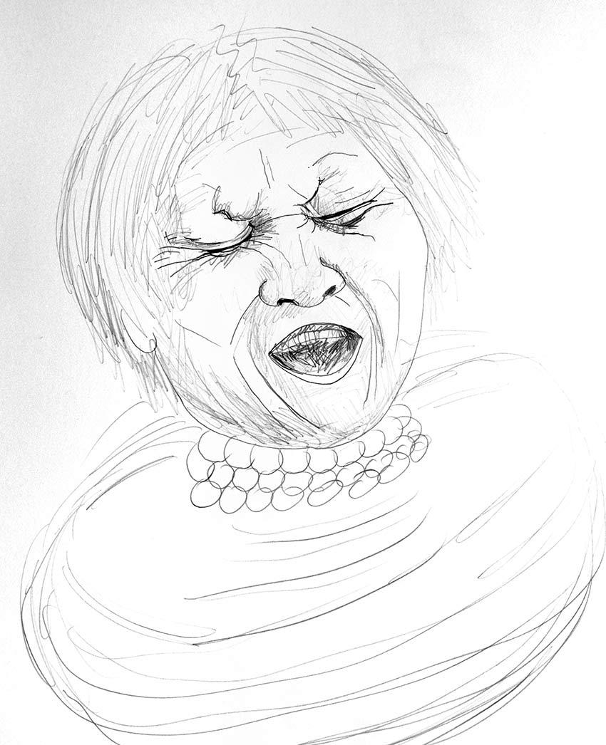 angustia mujer china crack bolsa