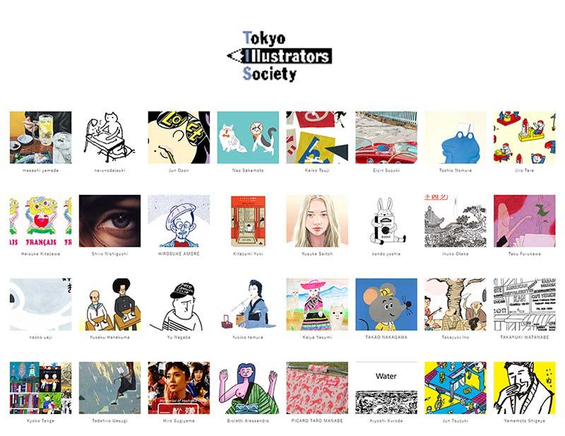 tokyo illustrator society