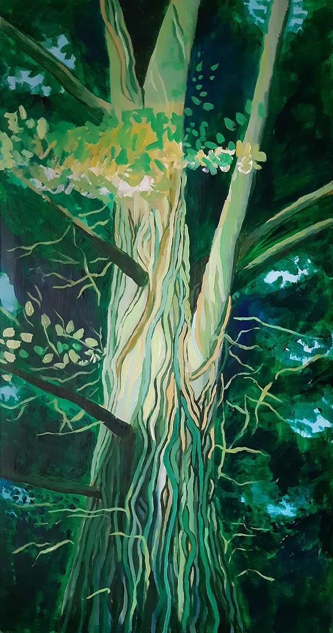 dibujo lianas