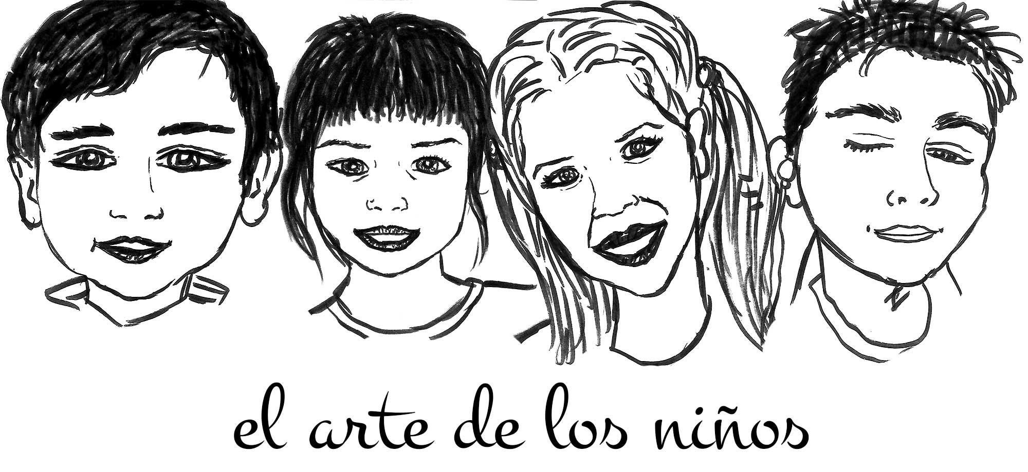 retrato de los niños