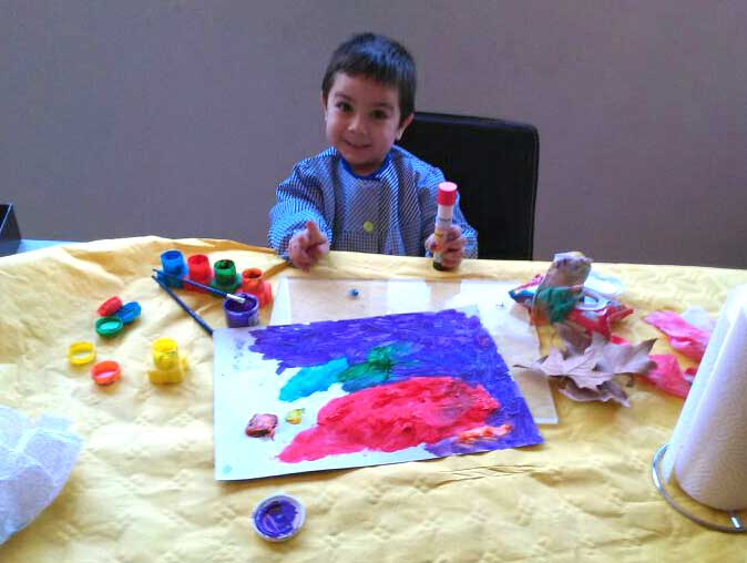 garabatos de colores