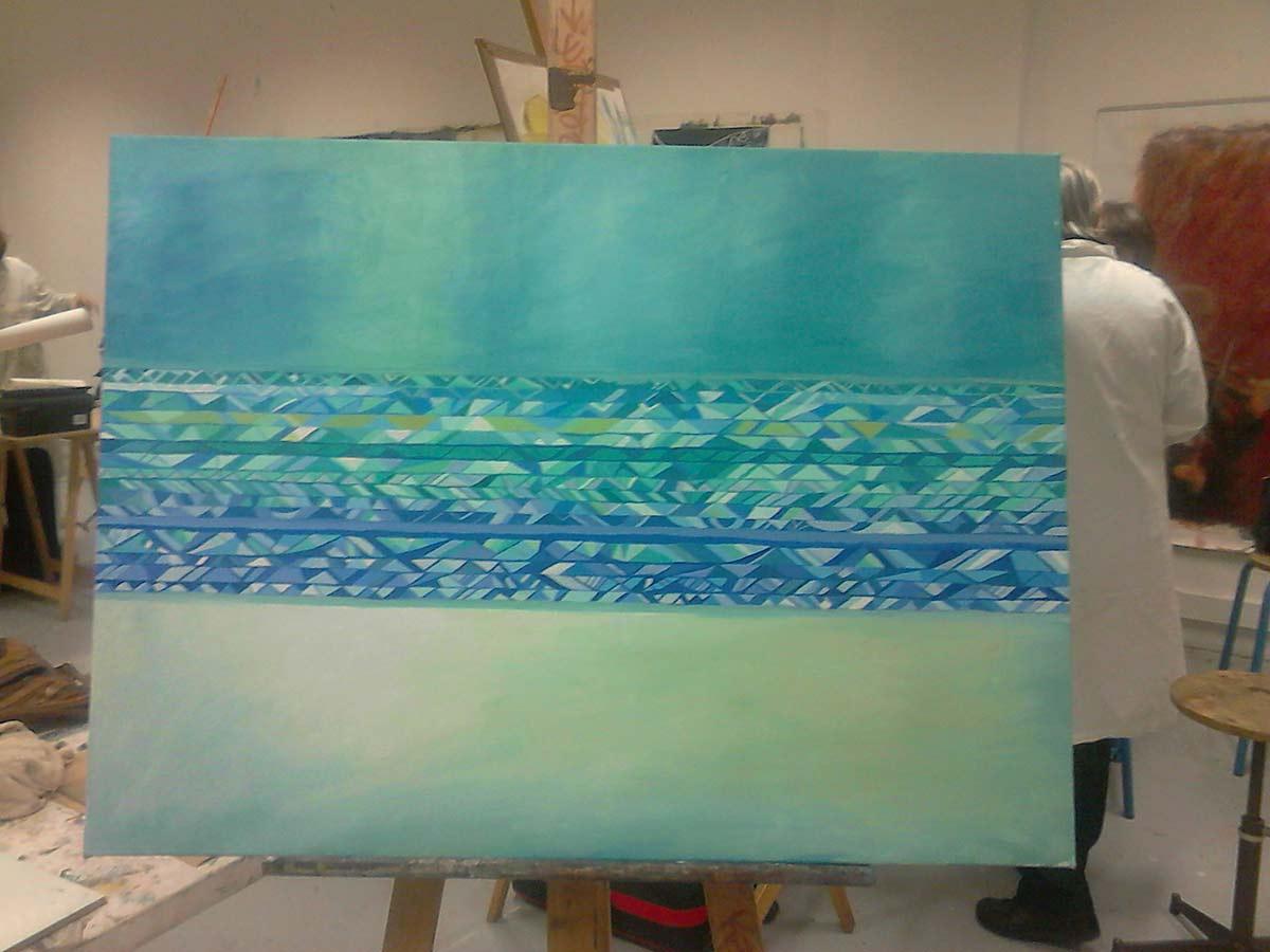 pintura borrada