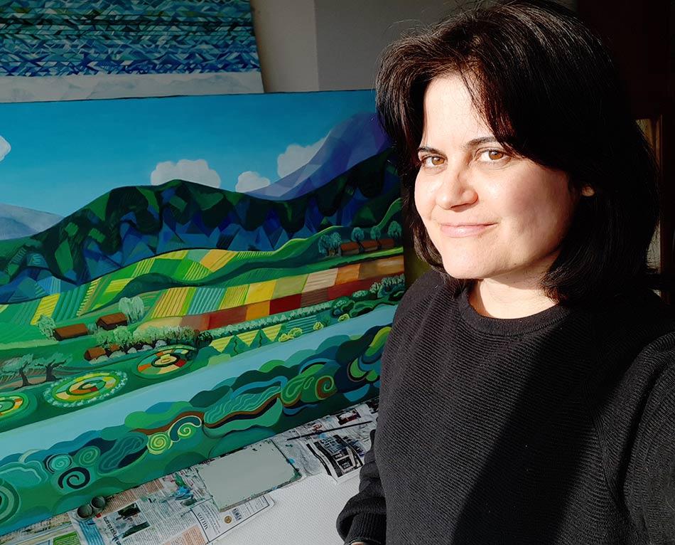 pintura Cristina Alejos