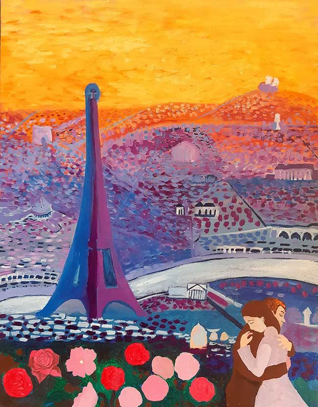 pintura expresionista de París