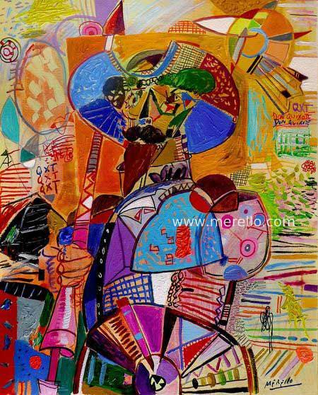 El Quijote de José Manuel Merello